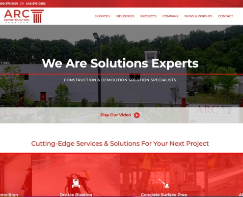 ARC - Annapolis Website Designer