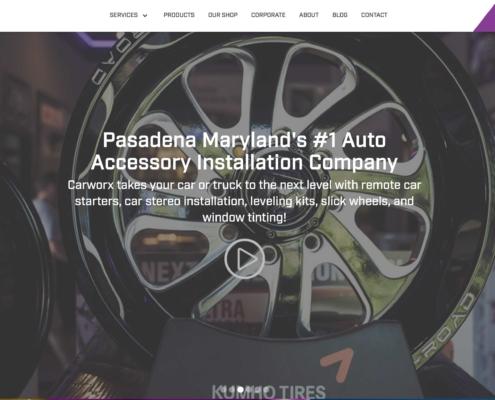 Carworx - Annapolis Website Designer