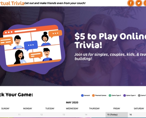 Charm City Trivia - Annapolis Website Designer