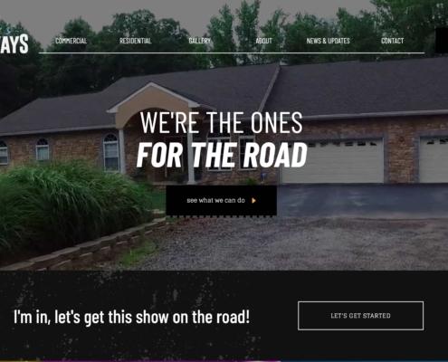 Dustins Driveways Annapolis Website Designer