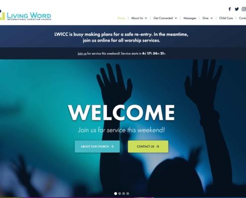 Living Word Church - Annapolis Website Designer