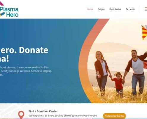 Plasma Heros - Annapolis Website Designer