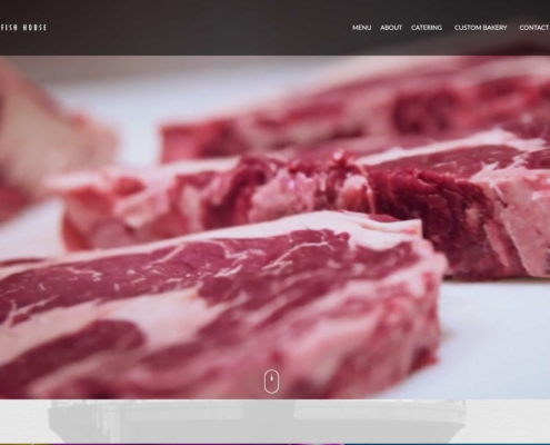 Two Rivers Steakhouse - Annapolis Website Designer
