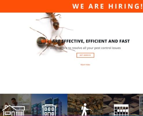 Weir Pest - Annapolis Website Designer